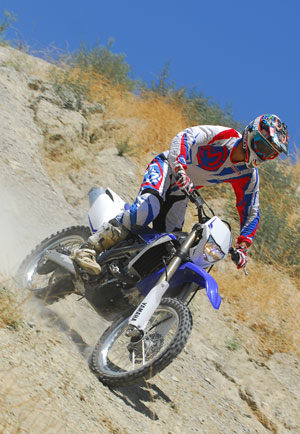 The WR's brakes are strong and linear to simplify slowing from high speeds or technical steep descents.