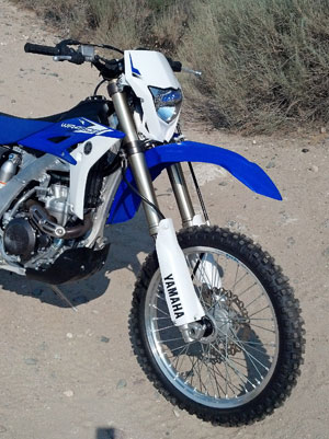 A fully adjustable 48mm KYB cartridge fork provides 11.8 inches of plush and controlled travel up front. The forks are held fast by forged aluminum triple clamps.