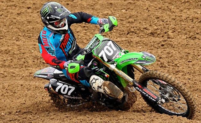 kawasaki team green kx racer support program info