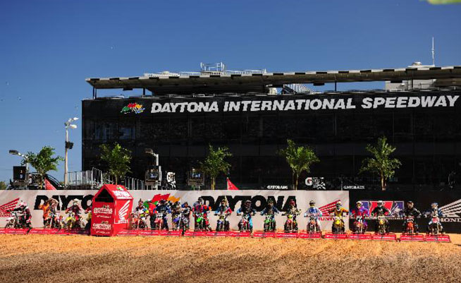 Racers at the 5th Annual Ricky Carmichael Daytona Amateur Supercross will boast a lucrative contingency payout for its participants. PHOTO BY STEVE COX.