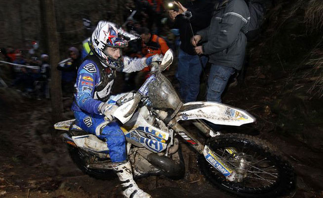 Bel Ray Husqvarna rider Graham Jarvis became the winningest rider in the history of the Hell's Gate Hard Enduro by earning a fourth career victory at the event, which is held in Italy. PHOTOS COURTESY OF HUSQVARNA MOTORCYCLES.
