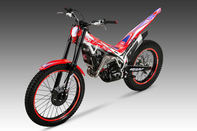 Want a real factory replica? Beta will sell you one of its EVO Factory Edition trials motorcycles, which are identical to the bike the works teams ride in World- and International-level competition.