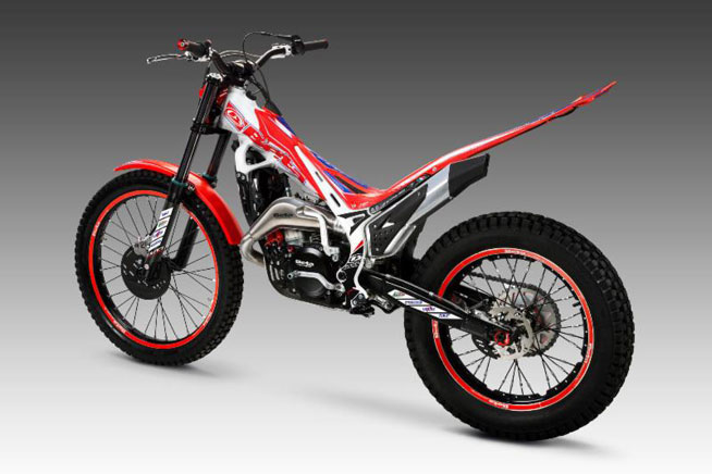 Beta EVO Factory Edition models are available in 125cc, 250cc and 300cc versions.