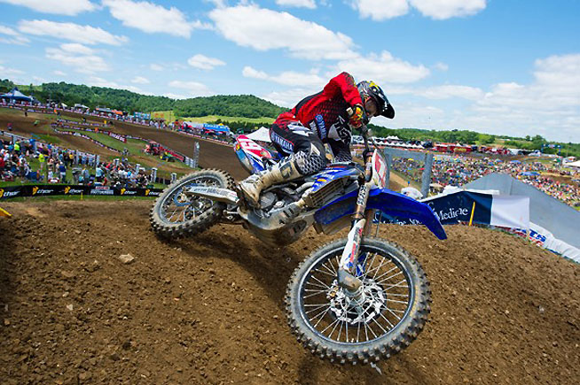 Jeremy Martin enjoyed a dominant 250cc outdoor season in 2015, landing his first career AMA National title in the Lucas Oil 250c Pro Motocross Championship. PHOTO BY RICH SHEPHERD.