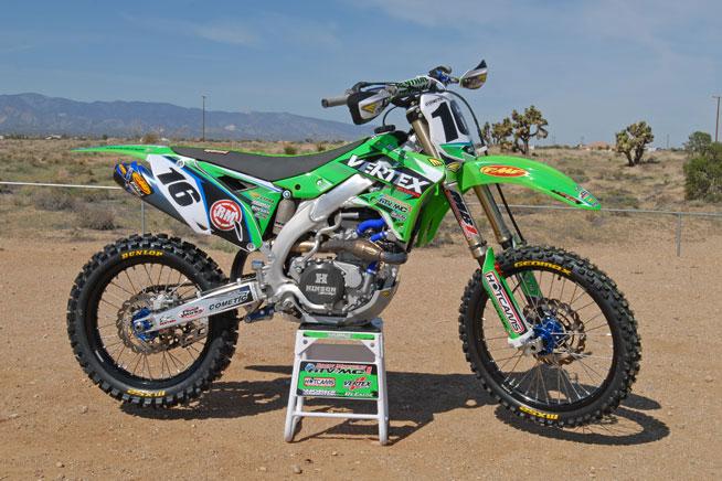 Project Bike: Vertex Kawasaki KX450F
