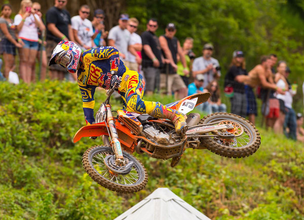 Red Bull KTM's Ryan Dungey has been selected to the US team for the Motocross of Nations in Latvia, next month. It will be his sixth MXoN appearance. PHOTO BY RICH SHEPHERD.