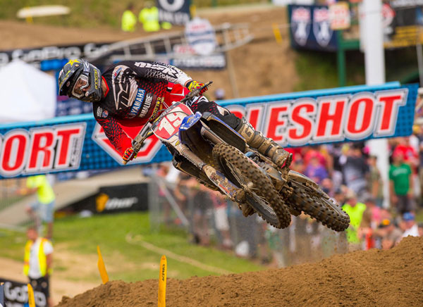 Jeremy Martin will race in the MX2 class. It will be his first time racing for Team USA. PHOTO BY RICH SHEPHERD.