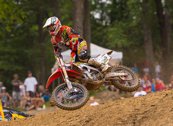 Eli Tomac will be making his second appearance at the MX of Nations. Last year, Tomac rode in MX2. This year he will be in the Open class. PHOTO BY RICH SHEPHERD.