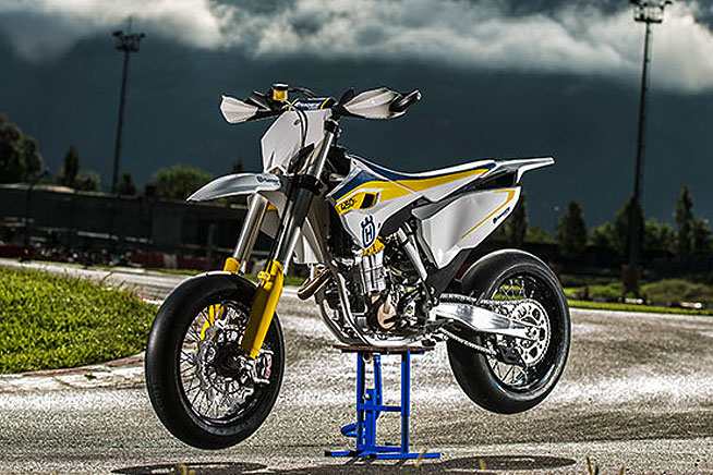 New Bike 2015 Husqvarna Fs 450 Supermoto