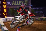 Despite a third place overall finish at the 2014 Monster Energy Cup, Trey Canard and Team Honda are optimistic about the 2015 Monster Energy AMA Supercross season. PHOTO COURTESY OF TEAM HNDA.
