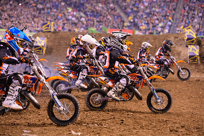 2018 ktm jr sx challenge. unique 2018 the ktm junior supercross challenge is a staple of the intermission  entertainment at monster energy ama for 2018 ktm jr sx challenge s