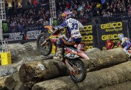 Factory FMF/KTM's Taylor Robert earned his first career GEICO EnduroCross Series win at the XFINITY Arena in Everett, Washington, on October 18. PHOTOS BY DREW RUIZ.