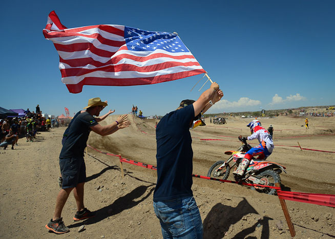 America's Taylor Robert finished second to Mike Brown in the E3 class on Day 6, capping a strong day for Team USA. Brown and Robert finished third and fourth overall, respectively, in the E3 class.