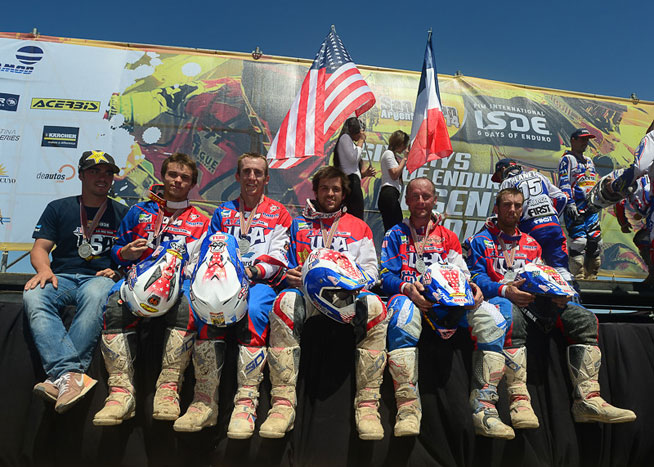 The U.S. World Trophy Team overcame adversity and finished second to Team France for the second year in a row.
