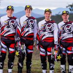 (Left to right) Josh Strang, Jacob Argubright, Andrew DeLong and Mike Brown will make up the Rockstar Energy Husqvarna Factory Racing U.S. off-road team for 2015. PHOTOS COURTESY OF HUSQVARNA MOTORCYCLES.