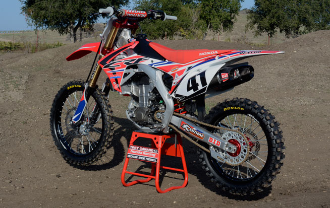 According to Presnell, Canard is typical of most pro-lvel riders in that he prefers his engines to build strong mid-range and top-end power.