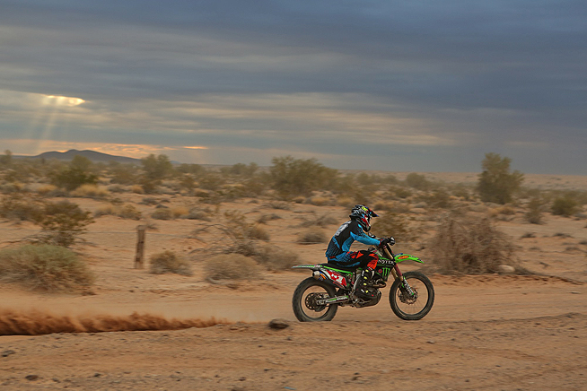 To give precision concepts kawasaki its first best in the desert