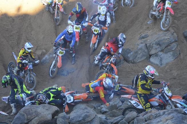 As usual, the Klim King of the Motos featured a brutal course that took its toll on many of the competitors.