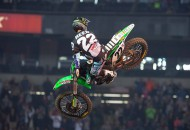 Chad Reed scored his 44th career Monster Energy AMA Supercross win at the Georgia Dome in Atlanta tonight. PHOTOS BY RICH SHEPHERD.