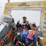 Marc Coma, 2015 Sealine Rally winner. PHOTO BY RALLYZONE BAUER/BARNI.