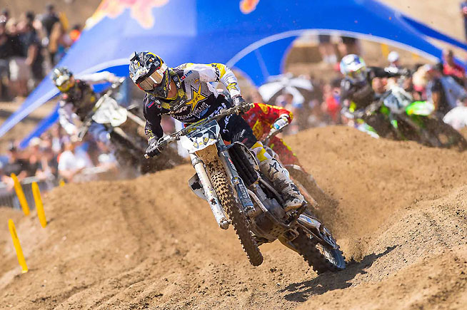 Jason Anderson made his rookie debut in the 450cc outdoor ranks a successful won with a third-place overall finish.