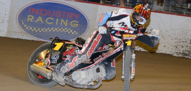 Multi-time AMA and U.S. National Speedway Champion Billy Janniro raced to the Connor Penhall Memorial Cup win, grabbing the biggest chunk of the massive $10,000 Pro purse.
