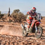 Paulo Goncalves scored the opening stage win and parlayed that into the overall victory at the Ruta 40 Rally in Argentina, South America, May 19-23. PHOTO COURTESY OF TEAM HRC.