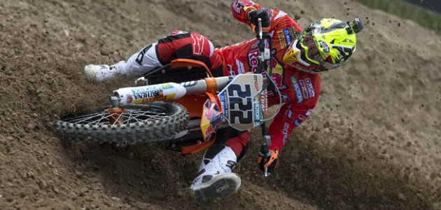 Reigning World MXGP Champion Antonio Cairoli of Italy became the winningest GP rider in British GP history when he won the MXGP of Great Britain in Matterley Baisin, England, on May 24. Cairoli's sixth British GP win vaulted him past Belgian legends Stefan Everts and Joel Robert, who each collected five GP wins in England during their careers. FILE PHOTO COURTESY OF RED BULL CONTENT POOL.