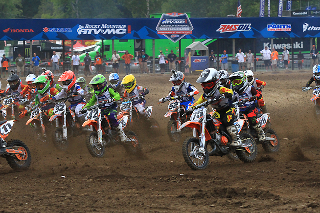 National amateur motocross qualifier