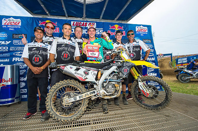 lucas oil pro motocross resumes this weekend