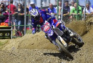 Romain Febvre collected his fifth FIM MXGP win of the season with a 1-1 sweep of the GP of the Czech Republic at Loket on July 26. Febvre now has a commanding 88-point lead in the MXGP series standings. PHOTO COURTESY OF YAMAHA MOTOR EUROPE.