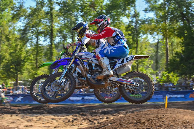 Favorable weather conditions enhanced the already close competition during day three of the 34th Annual Rocky Mountain ATV/MC AMA Amateur National Motocross Championship presented by AMSOIL at Loretta Lynn Ranch. PHOTOS BY KEN HILL.
