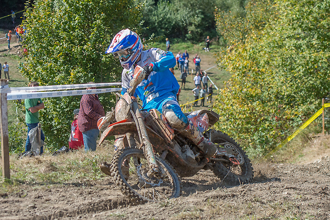 Kailub Russell continued to lead the individual standings overall after Day 2 of the 2015 ISDE in Slovakia today, but an up-and-down day by Team USA cost it the overall World Trophy lead. Australia now holds an 8-second advantage over the Americans, heading into Day 3.