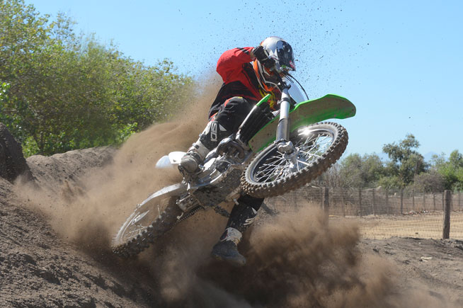 While the Kawasaki KX250F is mostly unchanged for 2016, it still delivers an exciting ride thanks to its potent mid-range hit.