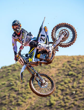 Jason Anderson rides for the Rockstar Energy Drink Husqvarna Factory Racing Team. Rockstar and Husqvarna have announced a new partnership that will see the energy drink brand support Husqvarna's worldwide official factory racing efforts.