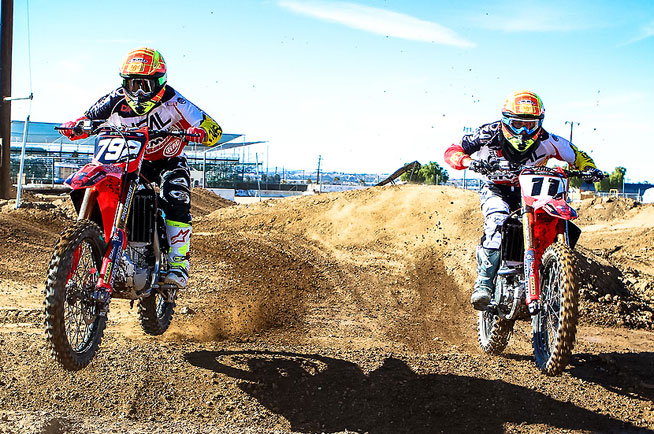 Veteran motocross racer Kyle Chisholm (11) will contest the 2016 Monster Energy AMA Supercross Series and the 2016 Lucas Oil Pro Motocross Championship for the Rocky Mountain ATV/MC Honda team. Chisholm joins Bracken Hall (792) on the team.