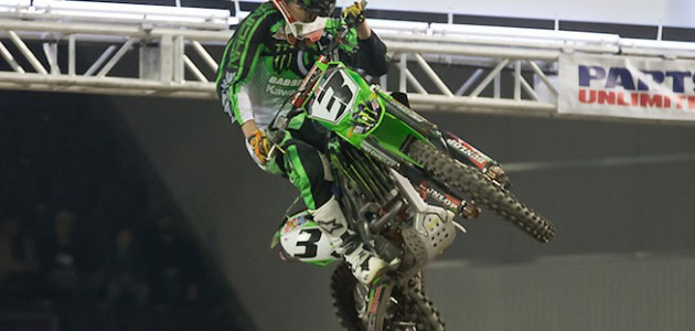 Gavin Faith was the first of three overall winners during the historic triple header weekend at Broadmoor World Arena in Colorado Springs, Colorado, February 5-7. Faith won on Thursday night.