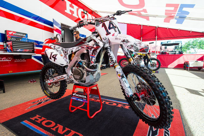 Seely And Honda Hrc Solid In San Diego