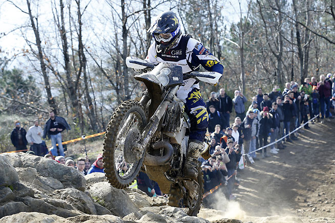 Graham Jarvis put up a sturdy challenge but finished second in the 2016 Hell's Gate Extreme Enduro.
