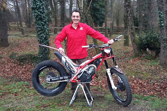 Former FIM World Trials Champion has a new mission, returning Gas Gas to prominence in the world of observed trials. Colomer has signed a product development deal with the revived brand.