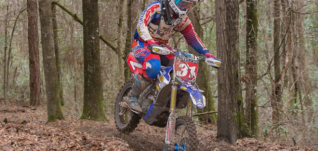 Grant Baylor put in an ultra-consistent performance to win the 2016 Kenda AMA National Enduro Series opener in Wedgefield, South Carolina, February 7. Baylor was also the winner of the final National Enduro round of 2015. PHOTO BY SHAN MOORE.