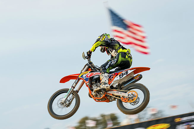 The Sixth Annual James Stewart Freestone Spring Championship, presented by Parts Unlimited and Thor, is set to run at Freestone Raceway in Wortham, Texas, March 15-19. It is one of the largest amateur motocross events in the state of Texas. PHOTO BY MOTOGRAPH.