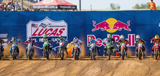 Tickets are now on sale for all 12 rounds of the 2016 Lucas Oil Pro Motocross Championship. The series kicks off May 21 at the Hangtown Motocross Classic at the Prairie City SVRA in Sacramento, California. PHOTO BY SIMON CUDBY.