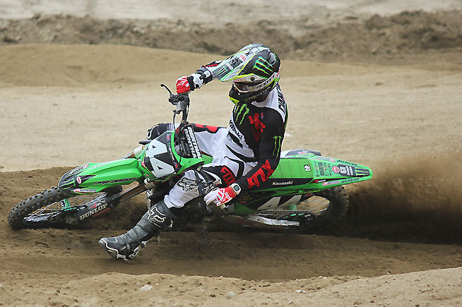 Adam Cianciarulo has healed from the navicular injury that he suffered prior to the 2016 Monster Energy AMA Supercross Series. The Monster Energy/Pro Circuit/Kawasaki star is ready to go for the Lucas Oil Pro Motocross Championship opener. PHOTO COURTESY OF KAWASAKI MOTORS CORP., U.S.A.