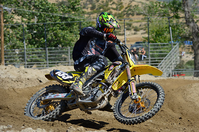 With the help of a Cylinder Works Big Bore kit, Jay Clark Enterprises gave a stock RM-Z250 a little extra grunt. Now displacing 269cc, the RM-Z can rocket out of a corner with authority.