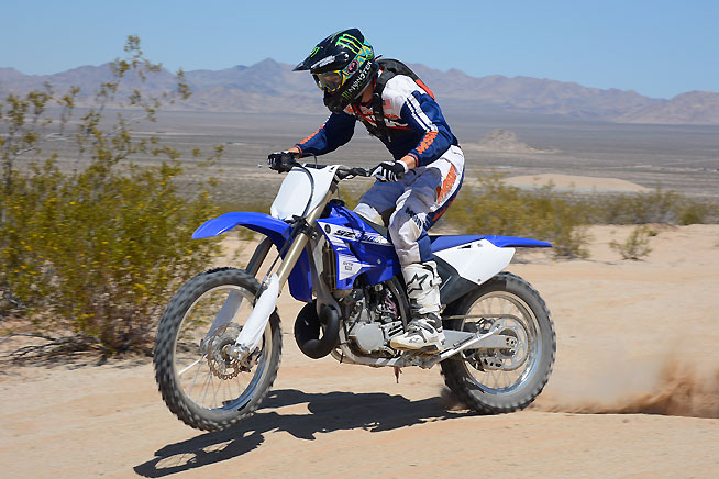 No matter what off-road terrain you prefer to ride over, the YZ250X is a lot of fun.