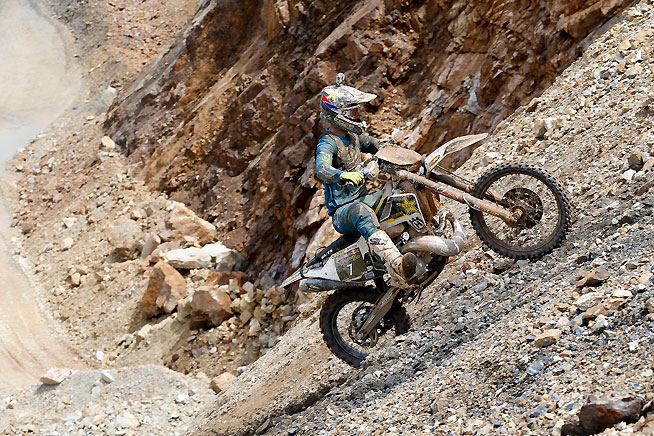 Colton Haaker had a rough time in his Red Bull Hare Scramble debut and failed to complete the event in the allotteed 4-hour time limit.