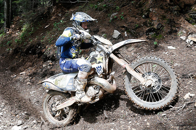 Graham Jarvis dominated the 2016 Red Bull Hare Scramble at the ErzbergRodeo in Austria. PHOTOS COURTESY OF HUSQVARNA MOTORCYCLES GmbH.