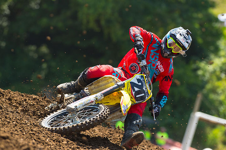 Broc Tickle's 6-3 moto finishes netted his first podium since 2012. PHOTO BY RICH SHEPHERD.