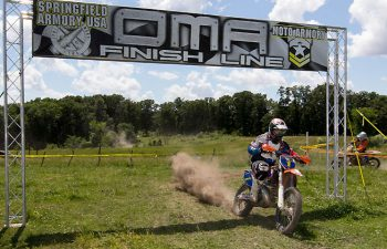 Steward Baylor put together 1-1 finishes to win round three of the OMA Nationals, the Moonshine XC, in Missouri, on June 5. PHOTO BY JOHN GASSO.